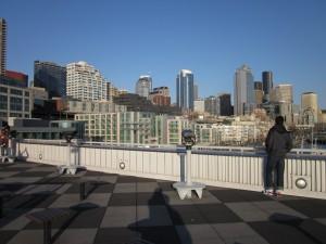 The Seattle skyline