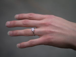 Engagement ring - top