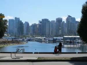 The Vancouver skyline!
