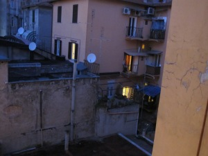 A Dark and Stormy Night in Rome