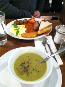 Hearty English food!