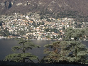 A little town across Lake Como