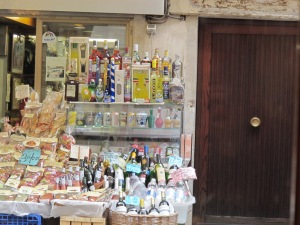 A typical Italian store