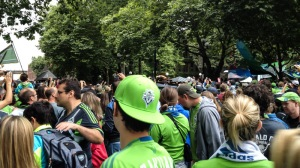 TONS of Sounders fans