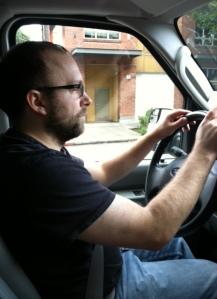Mike enjoys driving zip vans