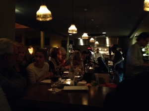 Lots of people at Cicchetti