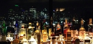 If the background behind the bar looks like the Seattle skyline, that's because it is!