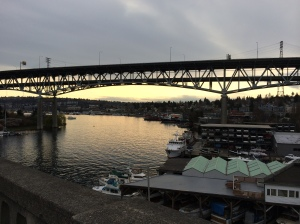 I-5 bridge over Lake Union