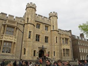 Waterloo Block, home of the Crown Jewels