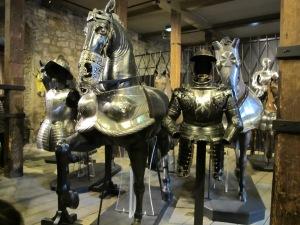 Horses got armor too