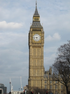 We also saw this... Mike had to tell me that it was Big Ben... apparently that's how jetlagged I was.  :)