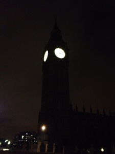 Big Ben... at 4am!