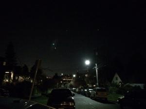 A night run in Wallingford