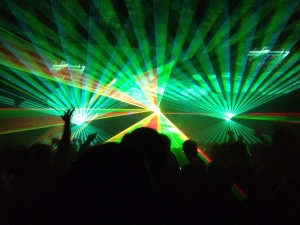 Trance and lights!