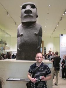 Hoa Hakananai'a - an Easter Island Polynesian statue from 1000AD