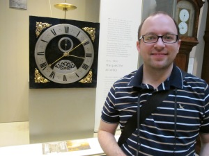 Mike loved all the clocks!