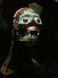 Mosaic mask of Tezcatlipoca