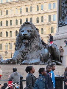 These lions were HUGE!