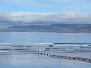 The Dingle Bay, and the Dingle Peninsula beyond it