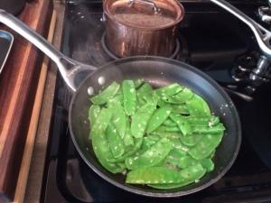Snow peas!