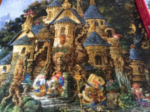 Our gnome puzzle... completed down to the last piece!