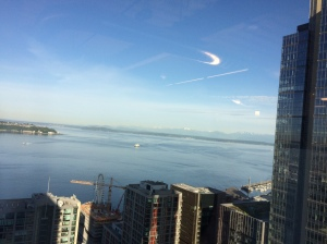 Puget Sound from my office building... gorgeous!