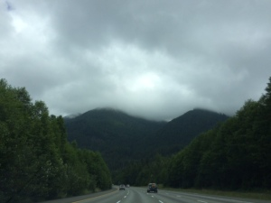The drive to Mount Si