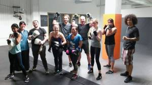 Final boxing class! Clearly this class builds great arms and shoulders